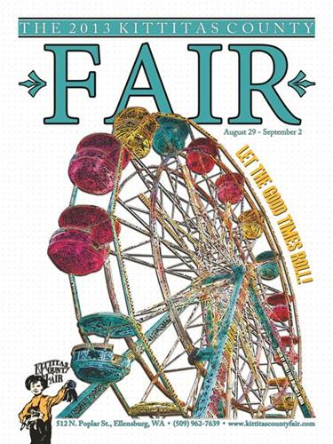 The 2013 Kittitas County Fair poster.