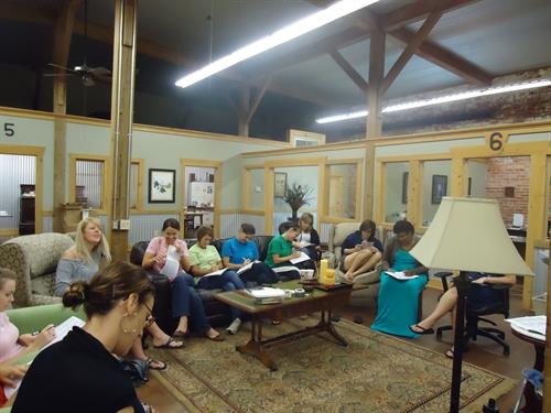 Small Group training at SWS, Crowley, LA