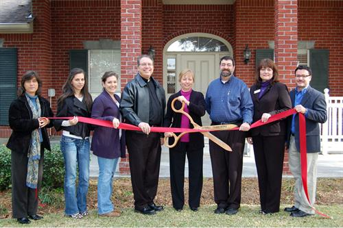 Ribbon Cutting for CFC 2010