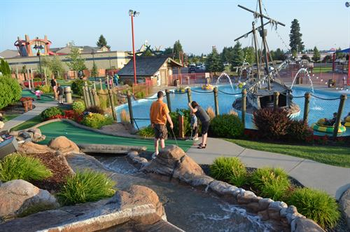 Mini Golf and Bumper Boats