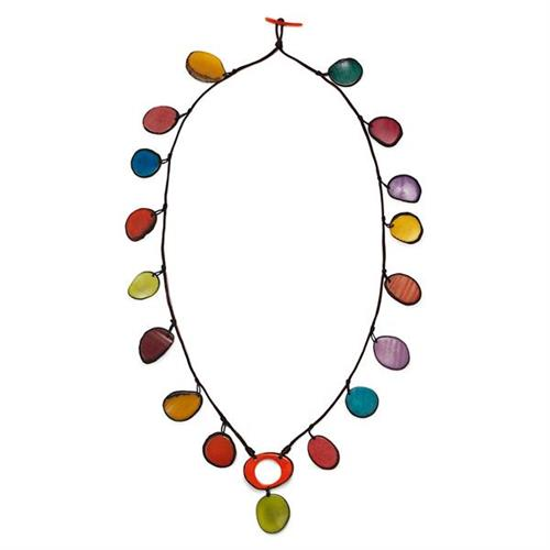 Tagua nut Necklace from the Rainforest