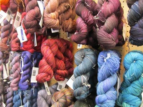 Black Trillium fiber - hand-dyed in Hillsboro