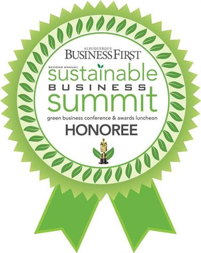 2013 Sustainability Award
