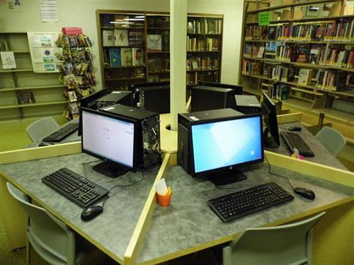 New Computers added to the Española Public Library