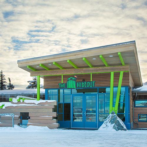 """""""The Hideout"""" Children's Ski School at Buttermilk"""