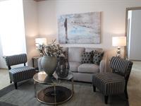 Designer Reverse Two Toned Paint, Crown Molding, Open Floor Plans