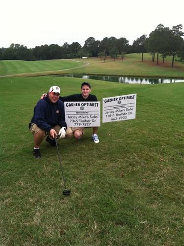 Garner Optimist Club Golf Outing