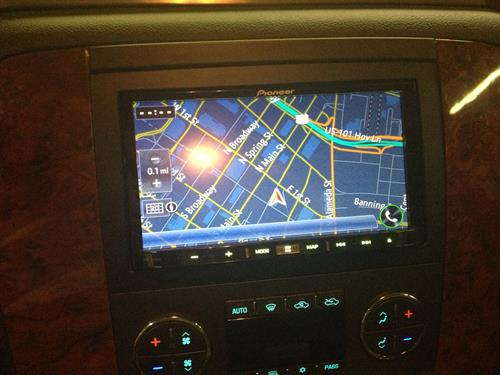 In dash NAvigation unit