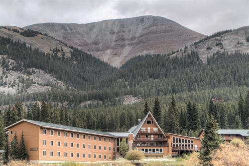 White Oak Lodge & Resort Breckenridge is tucked at the base of Mt. Quandary.