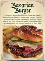 Bavarian Burger