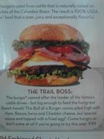 Trail Boss Burger