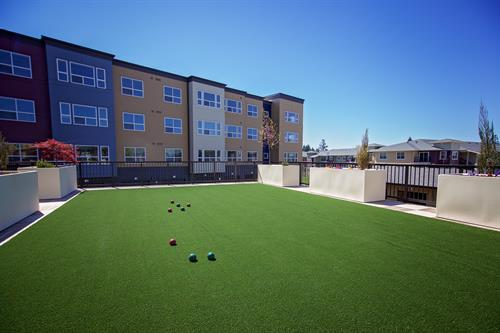 Outdoor Bocce Court