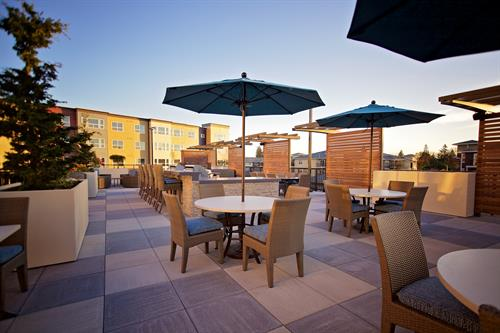 6,000 SF Outdoor Sky Deck