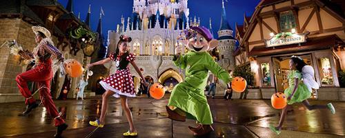 Mickey's Not So Scary Hallowen Party - Walt Disney World