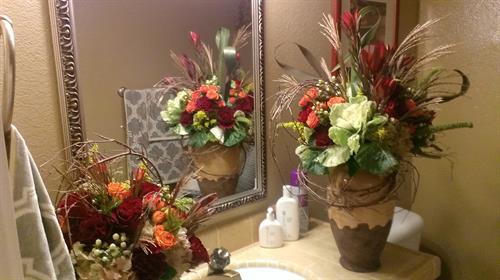 Memorial service arrangements
