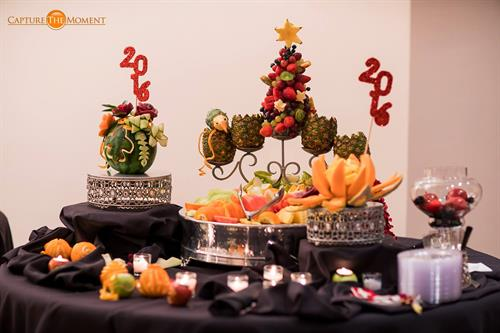 NYE Party - Fruits Table