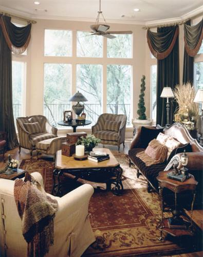 Selecting textiles, finishes and furnishings that work well together is the key to a well-designed room.
