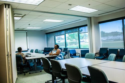 Spacious Meeting areas