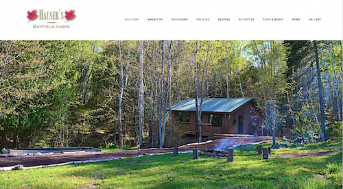 Hauser's Bayfield Cabin
