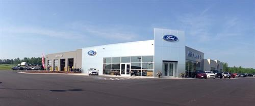 Ashland Ford Chrysler's Ford Entrance