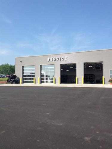 New Drive In Service Center
