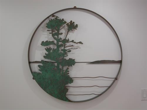 "Island View 36"" diameter"