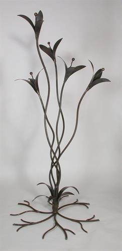 "Trilliums 50"" steel"