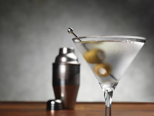 The 601 - Named for our martini-loving bar crowd in Washington, D.C. Ketel One Vodka or Martin Miller's Gin with Grana Padano and White Anchovy Stuffed Sicilian Olives.