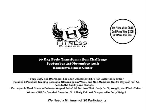 90 Body Transformation Challenge