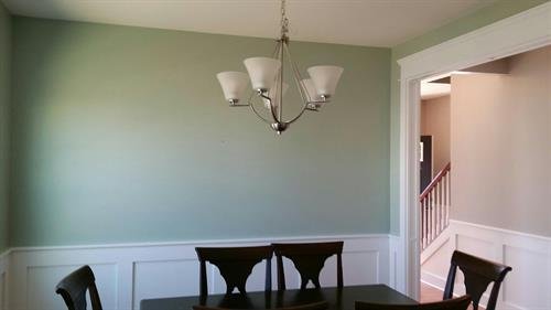 Interior - Dining Room Painting