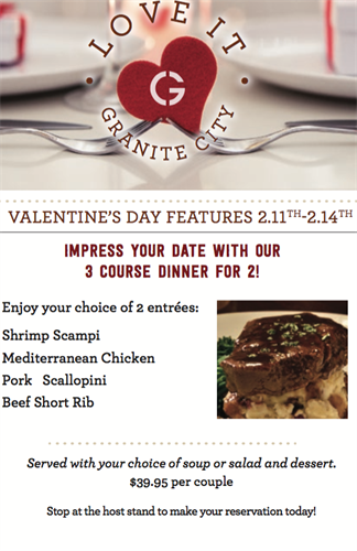 V-day Weekend Feature