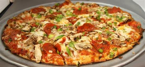 Firehouse Delight Pizza