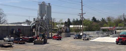 Warehouse to concrete ready mix plant conversion