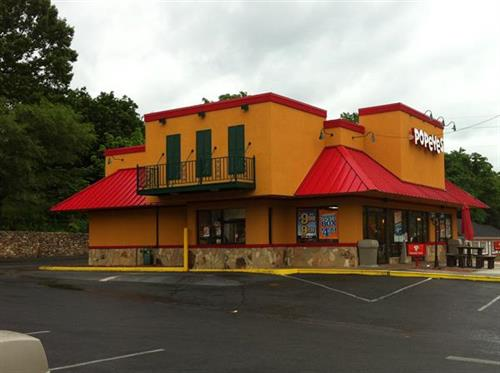 New Roanoke Popeyes built by TBS in 2011