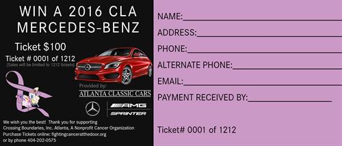 Mercedes Benz Fundraiser Tickets