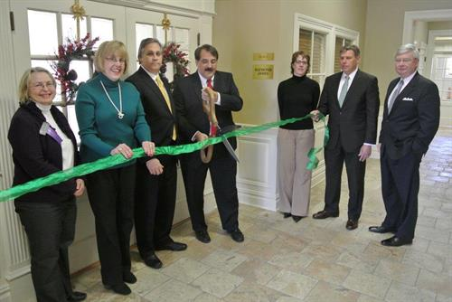 Ribbon cutting at our beautiful Bedminster, NJ office