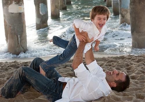 Family Portrait Photography - Beach