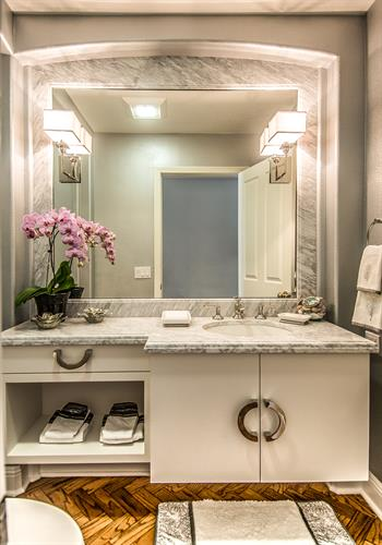 Encino A Powder Room Project