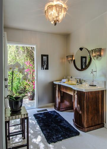 Sherman Oaks K Powder Room Project