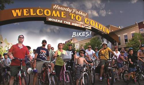 We sponsor a monthly family friendly bicycle cruise.