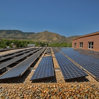 Proud to one of Colorado's Premier Solar Powered Hotels