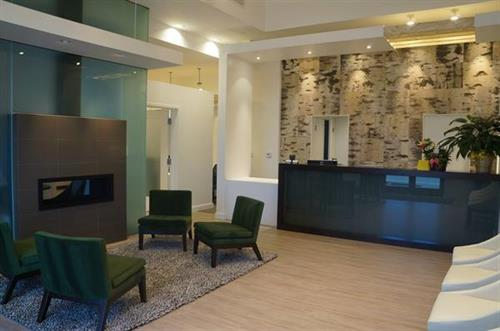 Our reception area