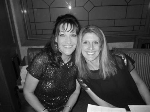 Cheryl Detrick & Jennifer Kalies at Taste 2013