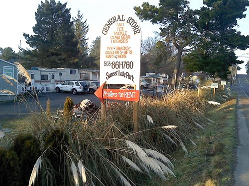sunset lake rv park and campground