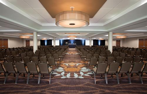 Our largest ballroom, Europa