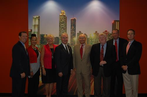 Welcoming Congrressman Tom Price MD at the new State Farm Regional Headquarters