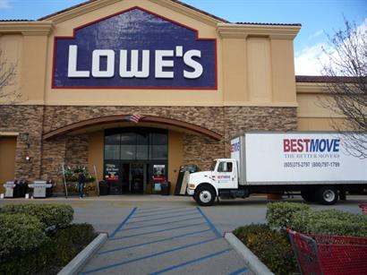 BEST MOVE Picking up appliances at Lowes!