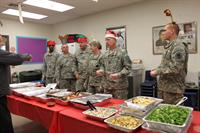 11th MP Battalion Officers Serving Unit members Stonefire Grill..Thanks For Supporting Our Troops Stonefire!