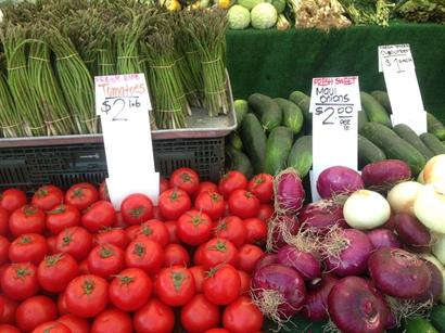 Check out our Farmers Market on Thursdays! 10 a.m. to 2:30 p.m.