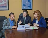 Richard takes the time to meet with each client to review their case